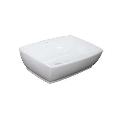Lavamanos Caxbri 47x35x13.5cm Alto Blanco