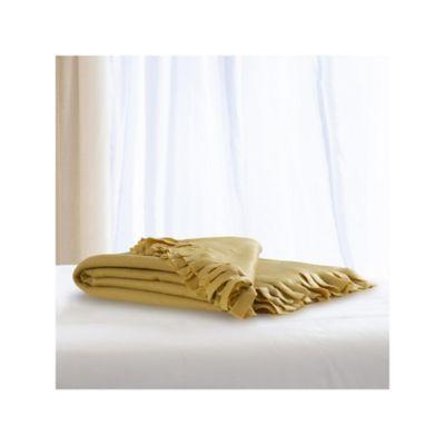 Manta Polar Amarillo 120x150 cm