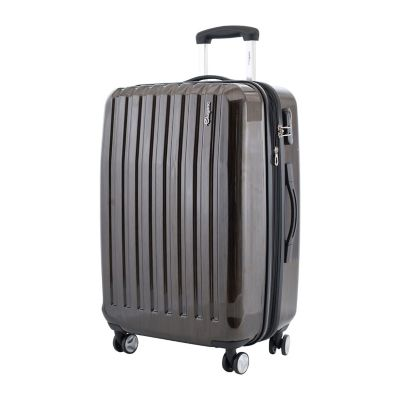 "Maleta Tonic  Abs 24"" Expandible 4 Ruedas Cafe"