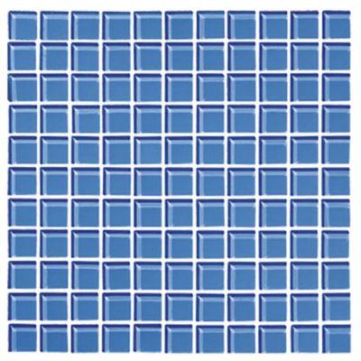 Mosaico Cristal Azul Claro 30X30 centímetros