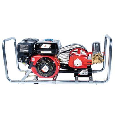 Fumigadora Estacionaria Xps22S   22L/Min 500Psi 3 Pistones Cromo Reforzado Incluye 100Mts Manguera Salida