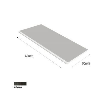 Piso PVC Waterproof  4mm 30x60cm Caja 1.8m2 Marmol Urbano