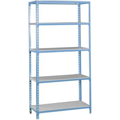 Kit Estantería SimonClick 5/500 Azul/Galvanizado