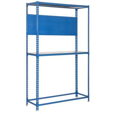 Kit Estantería Simonracing Megaplus 3/400 Azul/Galvanizado