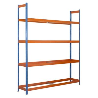 Kit Estantería Autoforte 1504-4 Azul/Naranja