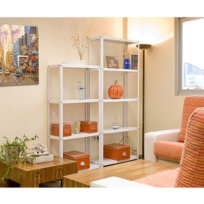 Kit Estantería Homeclassic Mini 4/300 Blanco