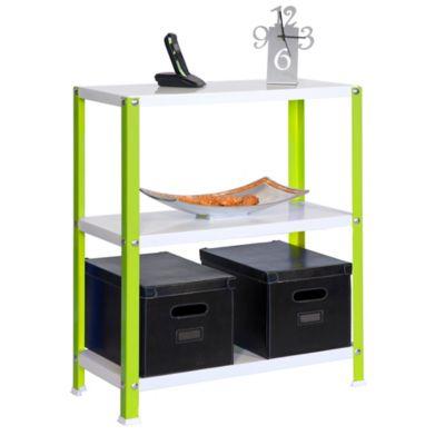 Kit Estantería Homeclassic Plus 3/400 Verde/Blanco