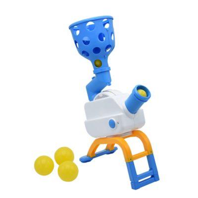 Boomball Juego de Destreza Atrapa Pelotas Azul con blanco y amarillo 95977