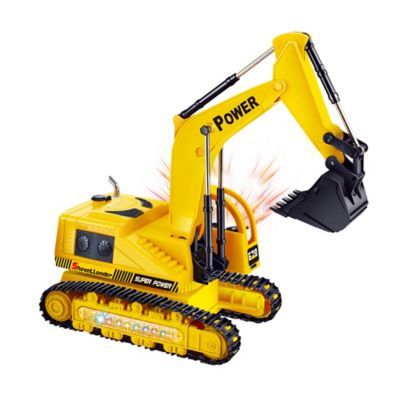 Máquina Excavadora Oruga a Radio Control Amarillo VDM-49710