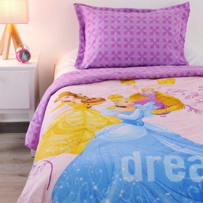 Comforter Semidoble 150 Hilos Princesas Dreamers