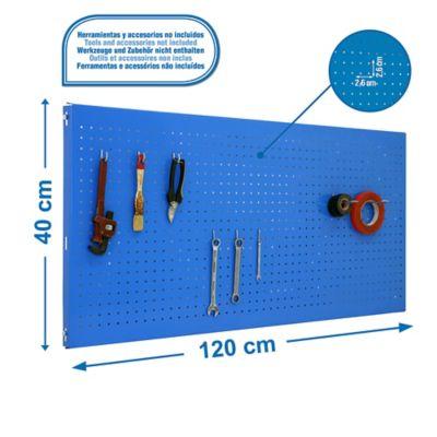 Panel Click 1200X400 Azul