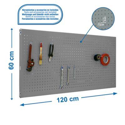 Panel Click 1200X600 Gris