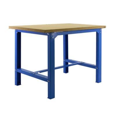 Banco de Trabajo Bt6 Plywood 1200 Azul/Madera Carga Máx. 800 Kgs