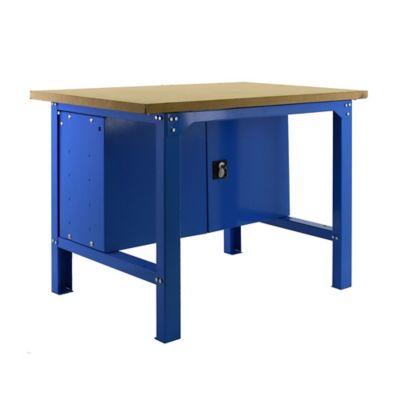Banco de Trabajo + Almacenamiento Bt6 Plywood Locker 1200 Gris/Mader Carga Máx. 800 Kgs