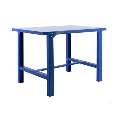 Banco de Trabajo Metálico Bt6 Metalic 1500 Azul Carga Máx. 800 Kgs