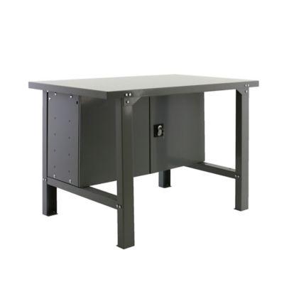 Banco de Trabajo Metálico + Almacenamiento Bt6 Metalic Locker 1500 Gris Carga Máx. 800 Kgs