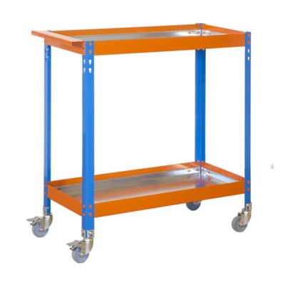 Carro de Herramientas Wagon 2/400 Metalic Azul/Naranja/Gal
