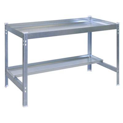 Kit Mesa para Jardín Desk 150x60 cm Galvanizado