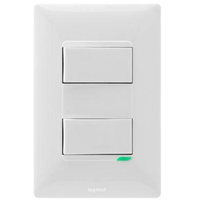 Interruptor Doble Futura X12Und