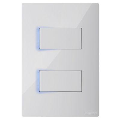 Interruptor Doble Luzp 10A X10A