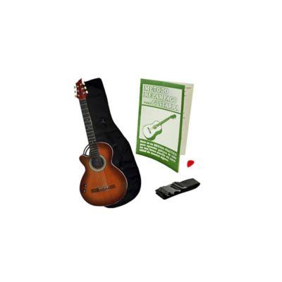 Combo GB Guitarra Zurda Estuche Sunburst