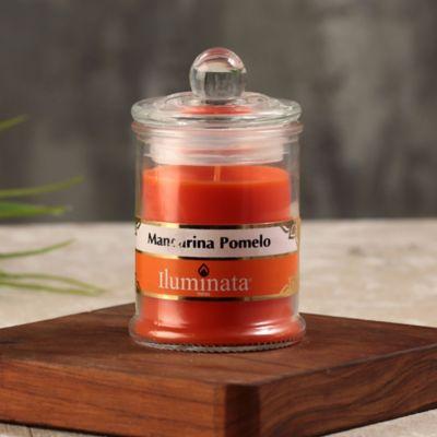 Vela Vaso 67 gr 7.5x8.5 cm Mandarina Pomelo