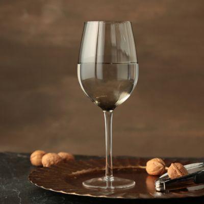 Copa Gris Para Vino Tinto