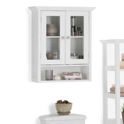 Gabinete para Baño Acadian 2 Puertas 25x60x71cm Blanco