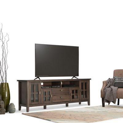 Mesa para TV Artisan 42x183x66cm Café Envejecido