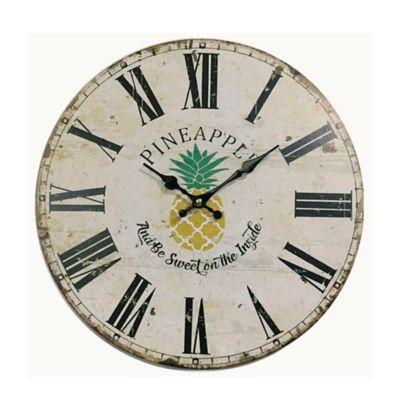 Reloj Pared 40 cm Beige Texas