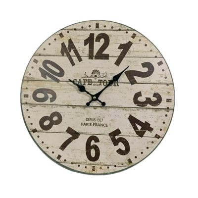 Reloj  Pared  40 cm Beige Texas