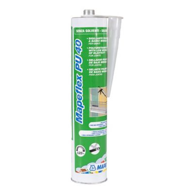 Sellador Mapeflex PU 40 300 ML Blanco