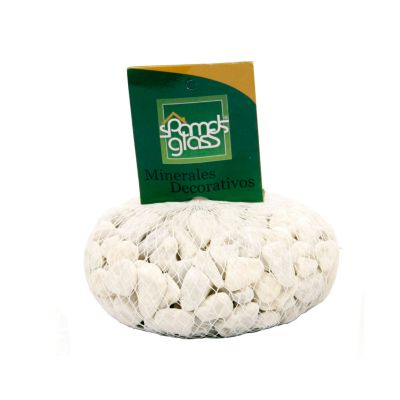 Piedra fósil blanco x 1000 gramos