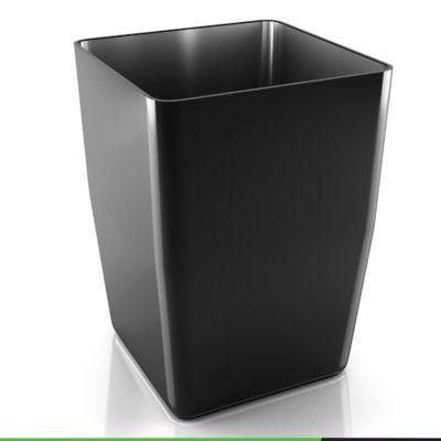 Matera Plástico 100% Reciclado Negra 40 Cms