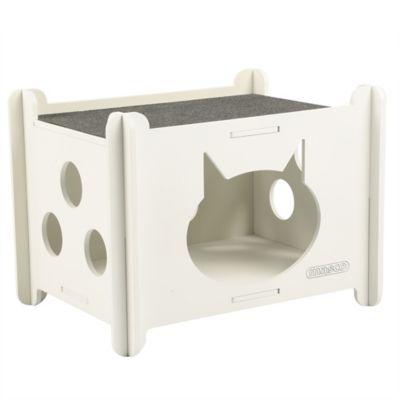Casa Para Gato Blanca