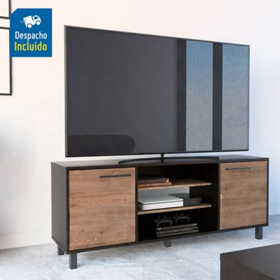 Rack para TV Kaia 61x155x39cm Wengue/Miel