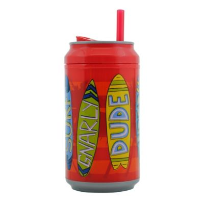 Botella 360ml Tipo Lata Doble Pared Tabla Surf