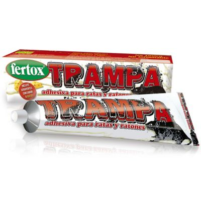 Trampa Adhesiva para Ratas X110gr Blanco