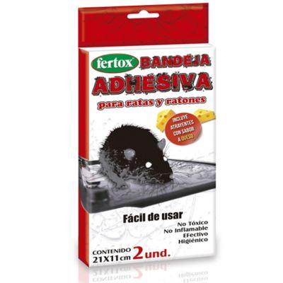 Trampa Adhesiva para Ratones X2und 120 Gr Blanco