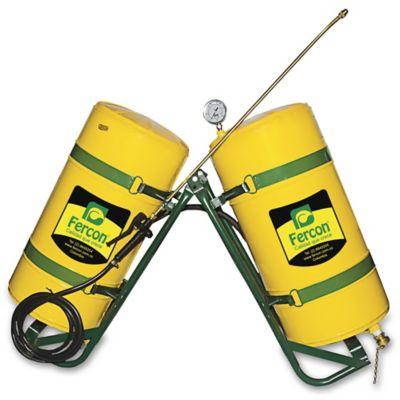 Fumigadora de Bestia Tanque Vertical Amarillo