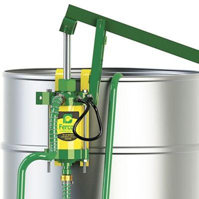 Bomba Inyectora Doble Acción en PVC Amarillo