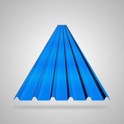 Teja 2mm 11.8X0.94 Azul UPVC