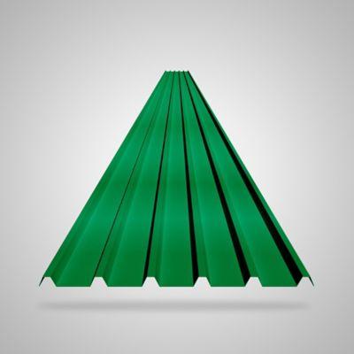 Teja 2mm 5.9X0.94 Verde UPVC