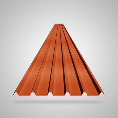 Teja 2mm 5.9X0.94 Roja UPVC