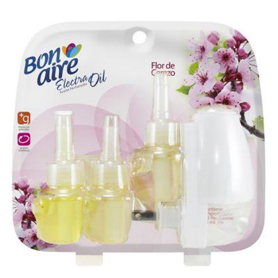 Bon Electra Oil Flor de Cerezo Repuesto x 3 Unidades + Vaporizador