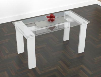 Mesa para Comedor Vidrio 148X78,4cm Blanco