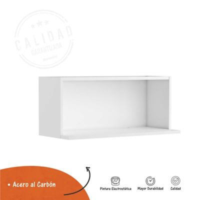 Mueble Microondas Gourmet Alto 35 cm x 60 cm Ancho x 35.5 cm Blanco