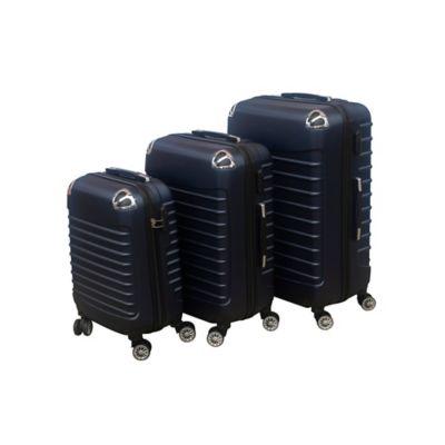 Set x3 Maletas de Viaje en ABS Azul
