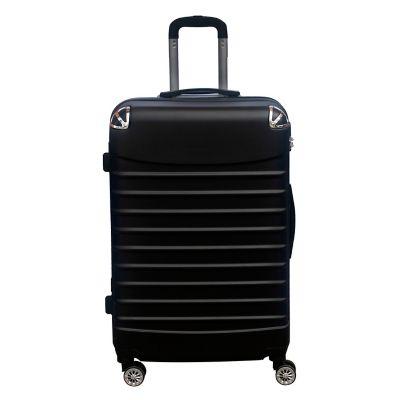 Maleta de Viaje en ABS 24 Pulgadas Negro