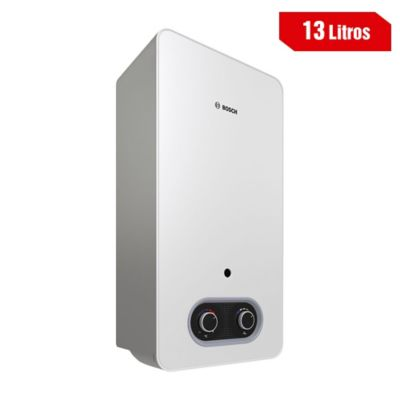 Calentador Bosch Tiro Natural 13 Litros Gas Natural T2200